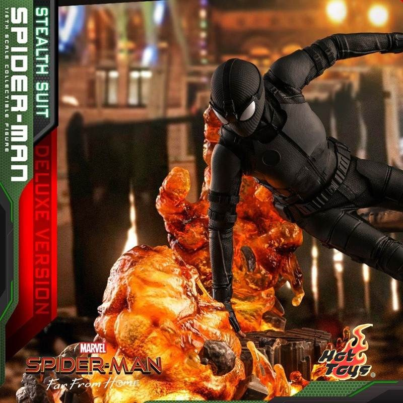Spider-Man (Stealth Suit) Deluxe Version - Spider-Man: Far From Home - 1/6 Scale Figur