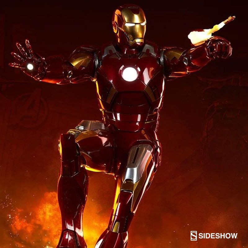 Iron Man Mark VII - The Avengers - Maquette