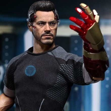 Tony Stark - Iron Man 3 - 1/6 Scale Action Figur