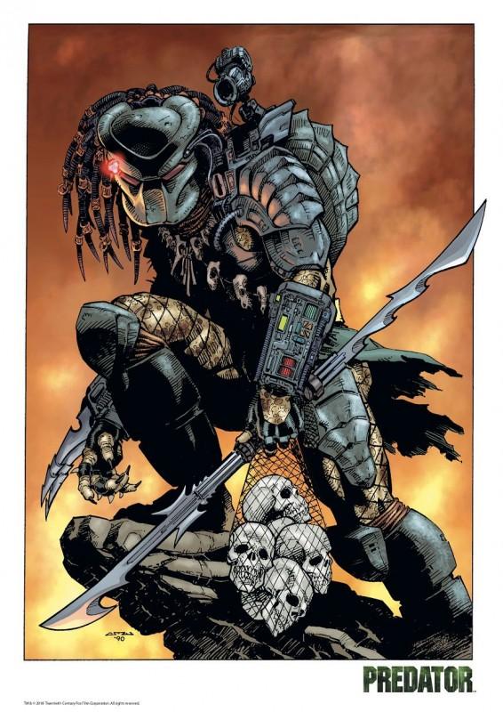Predator - Predator Comic - Kunstdruck 42 x 30 cm