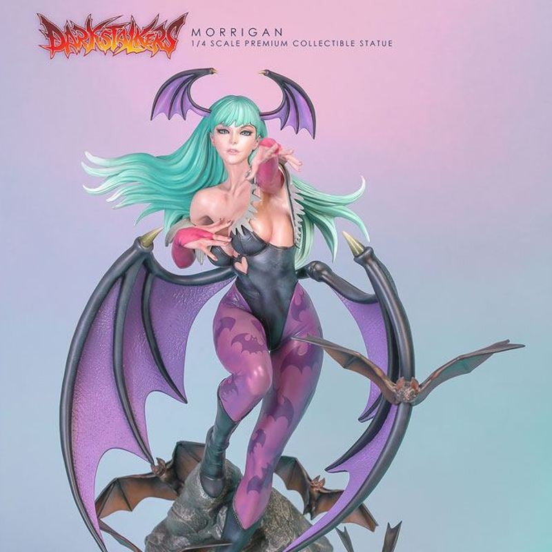 Morrigan Player 01 Edition - Darkstalkers - 1/4 Scale Statue