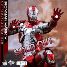 Mark V - Iron Man 2 - Diecast 1/6 Scale Figure