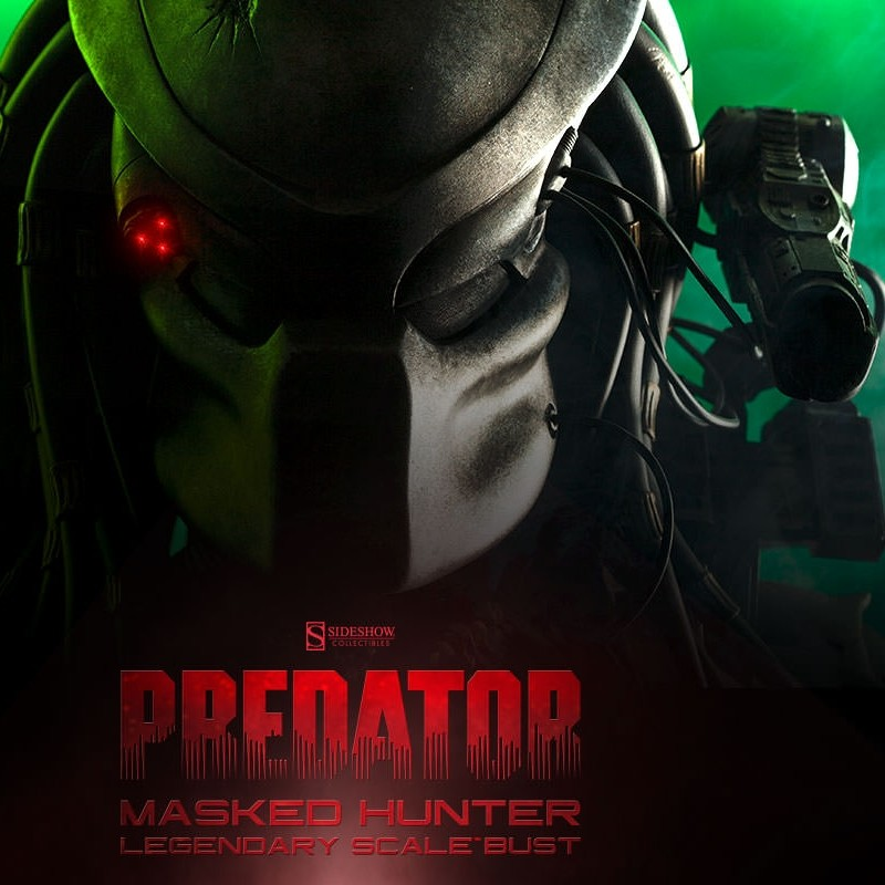 Masked Hunter Predator - Legendary Scale Bust