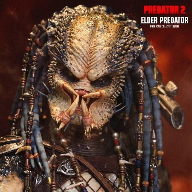 Elder Predator - Predator 2 - 1/6 Scale Figur