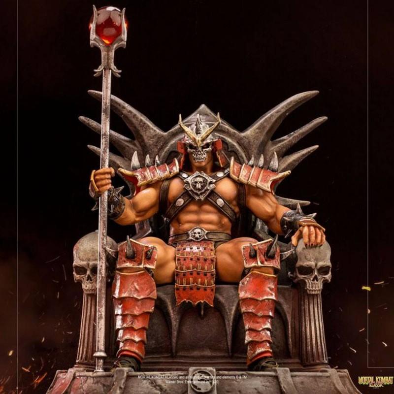 Shao Khan - Mortal Kombat - 1/10 Deluxe Art Scale Statue