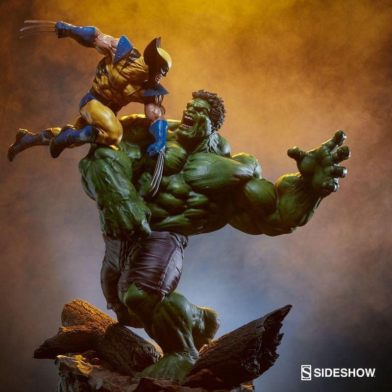 Hulk vs. Wolverine - Marvel - Maquette