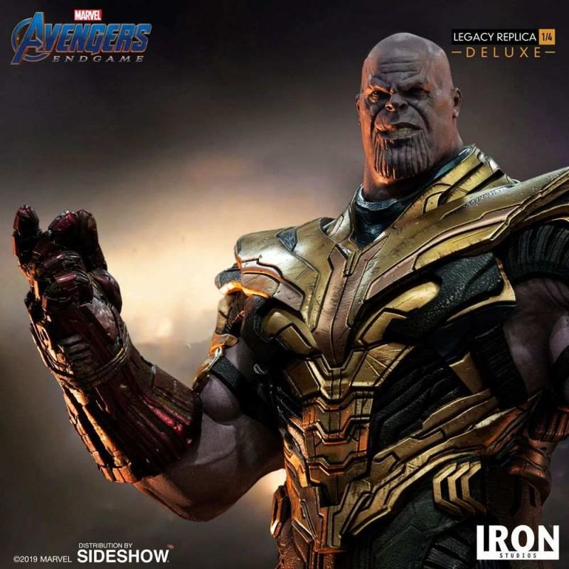 Thanos Deluxe Ver. - Avengers: Endgame - 1/4 Scale Legacy Replica Statue