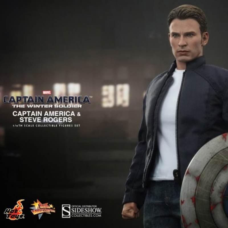 Captain America & Steve Rogers - 1/6 Scale Set