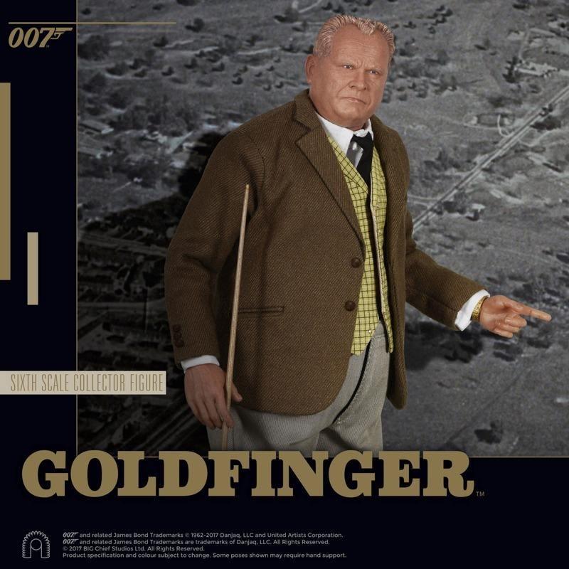Auric Goldfinger - James Bond Goldfinger - 1/6 Scale Figur
