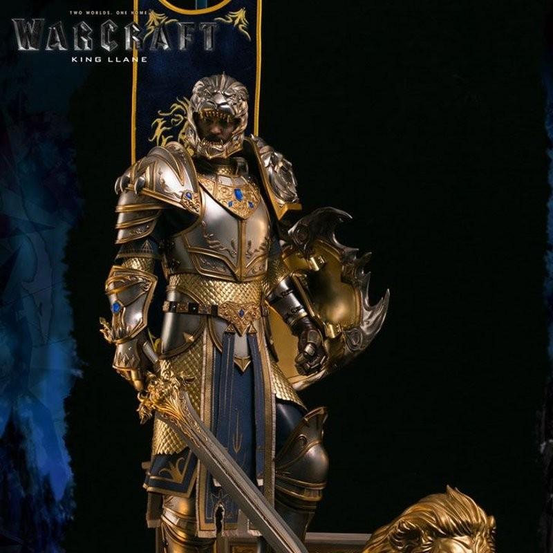 King Llane - Warcraft - Epic Series Premium Statue