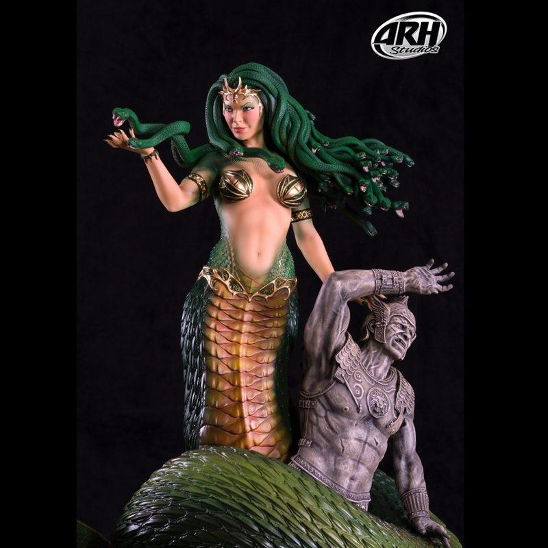 Medusa Regular Version - 1/4 Scale Statue