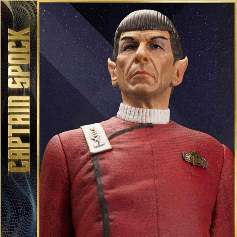 Leonard Nimoy as Captain Spock - Star Trek II - 1/3 Scale Statue
