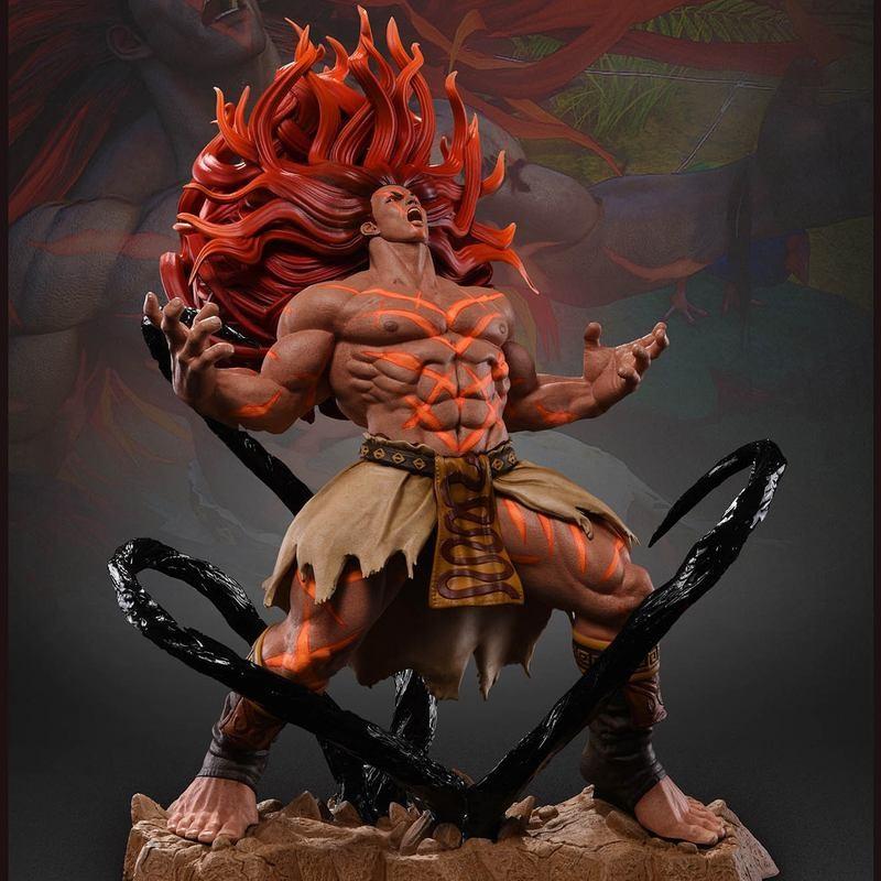 Necalli - Street Fighter - 1/6 Scale Statue