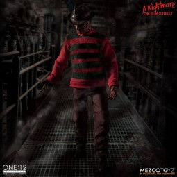 Freddy Krueger - Nightmare On Elm Street - 1/12 Scale Figur