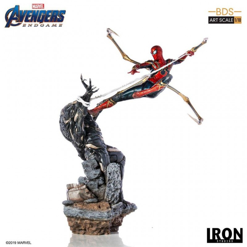 Iron Spider vs Outrider - Avengers: Endgame - BDS Art 1/10 Scale Statue