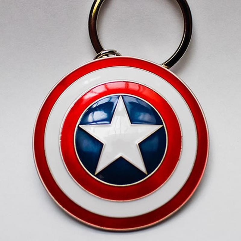 Captain America Shield - Marvel Comics - Metall Keychain