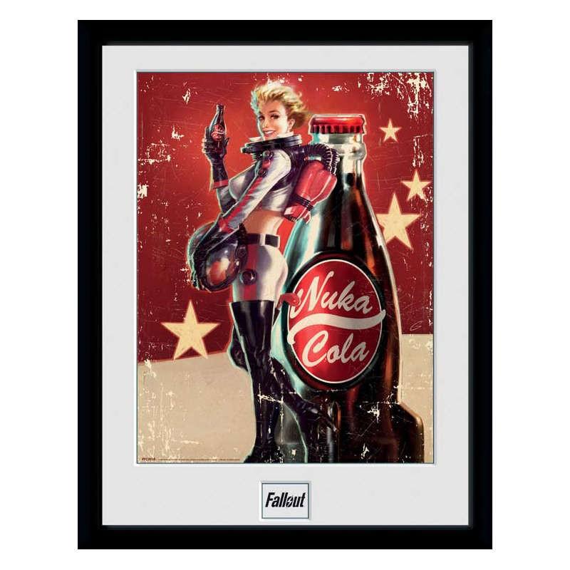 Nuka Cola - Fallout - Poster im Rahmen