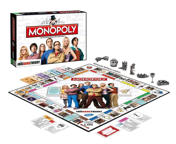 The Big Bang Theory - Monopoly - Brettspiel