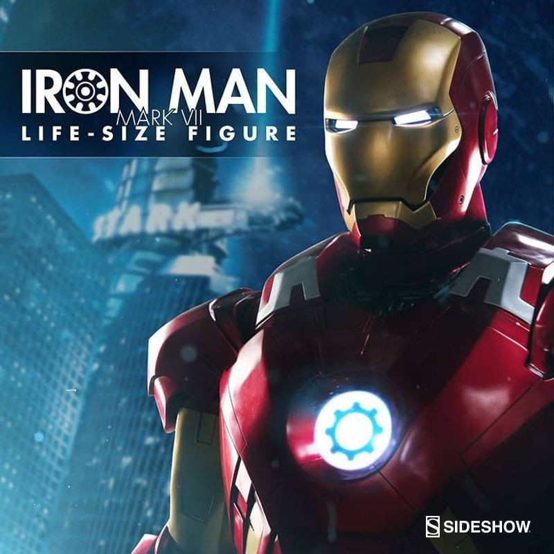 Iron Man Mark VII - The Avengers - Life-Size Statue