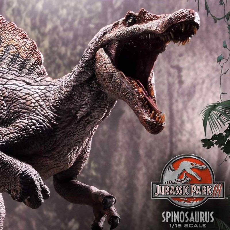 Spinosaurus (Bonus Version) - Jurassic World - 1/15 Scale Polystone Statue
