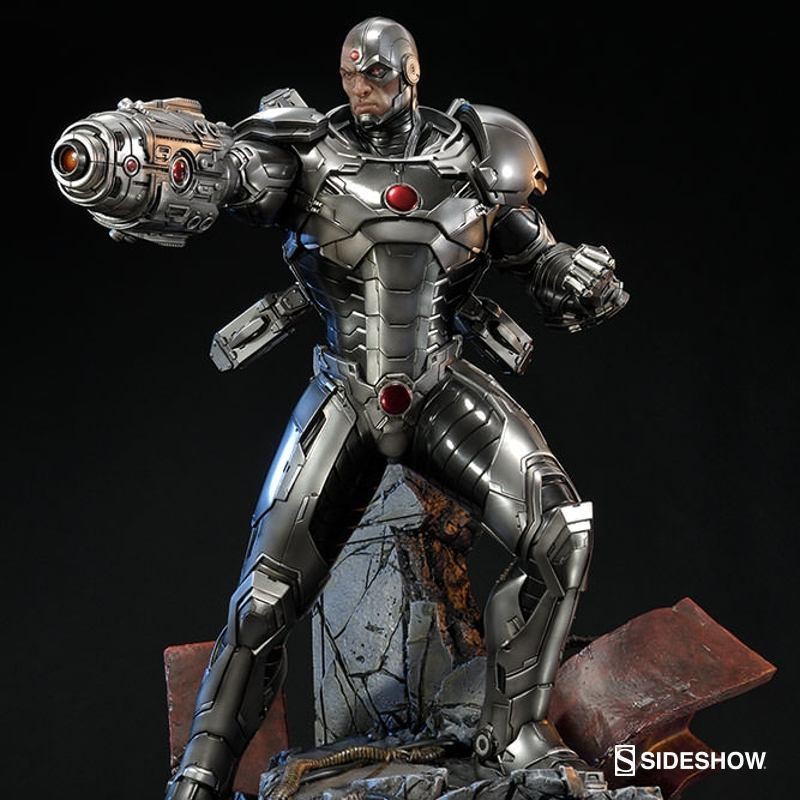 Cyborg New 52 - DC Comics - Polystone Statue