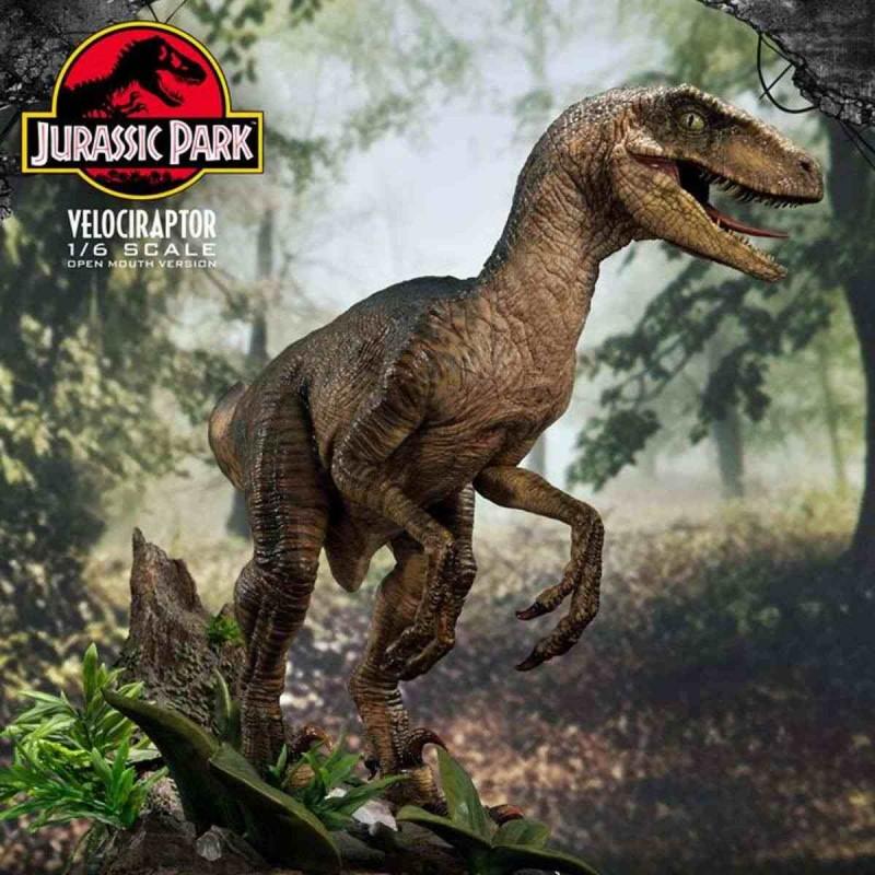 Velociraptor - Jurassic Park - 1/6 Scale Polystone Statue
