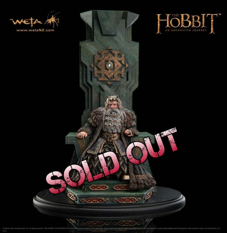 König Thror - Der Hobbit - 1/6 Statue