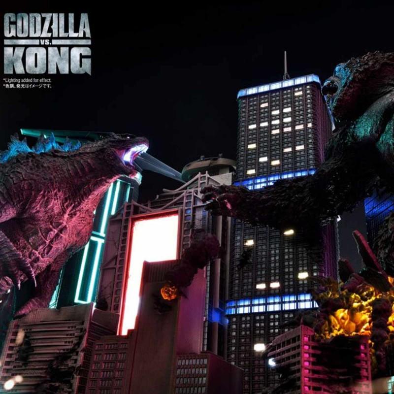 Godzilla vs. Kong Final Battle - Godzilla vs. Kong - Polystone Diorama