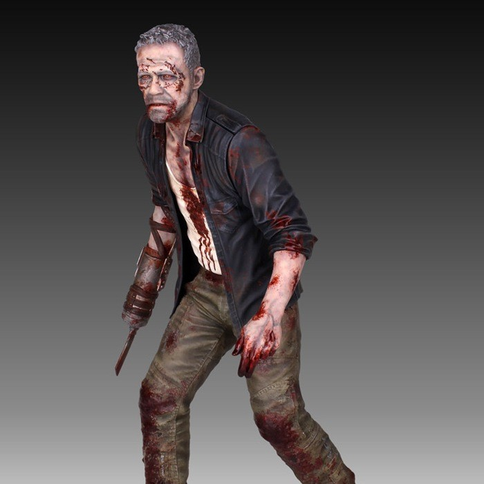 Merle Dixon - The Walking Dead - 1/4 Scale Statue