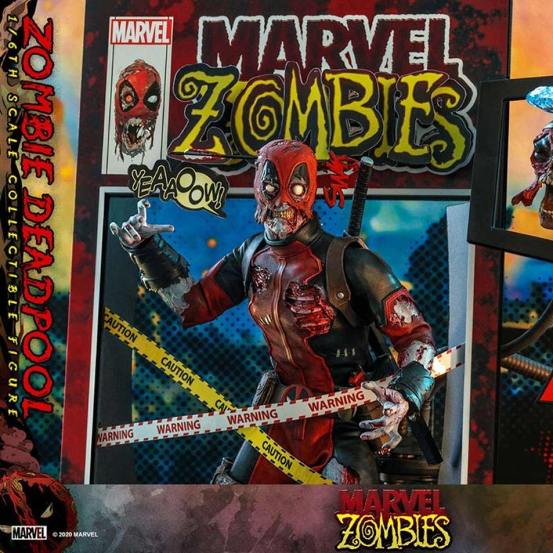 Zombie Deadpool - Marvel Zombies - 1/6 Scale Action Figur