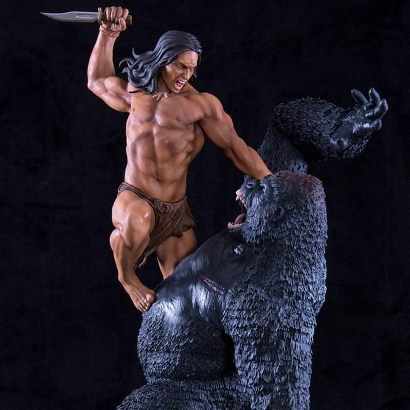 Tarzan Primal Rage - 1/4 Scale Statue