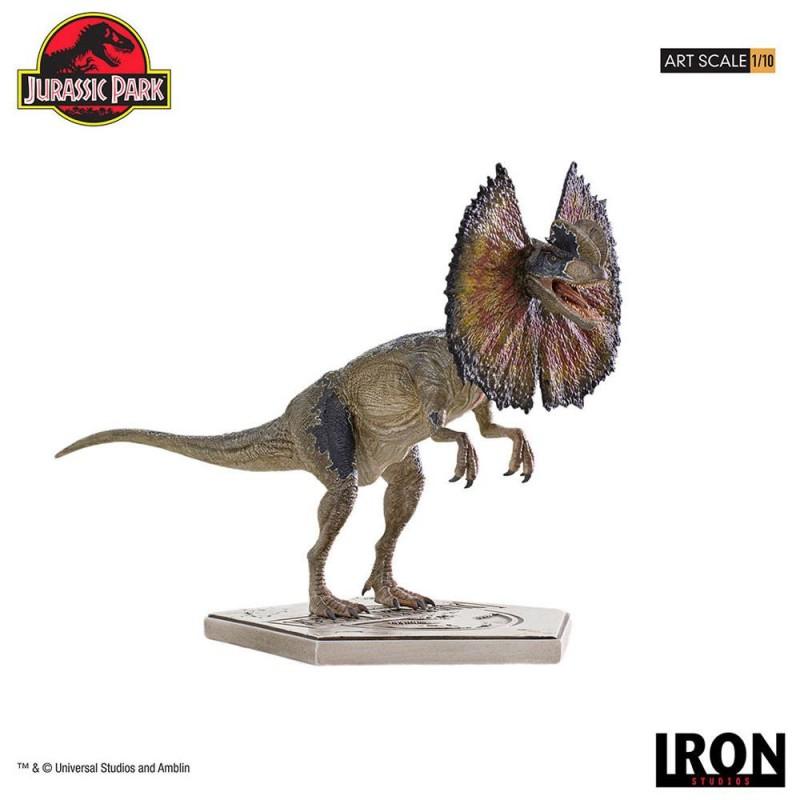 Dilophosaurus - Jurassic Park - 1/10 Art Scale Statue