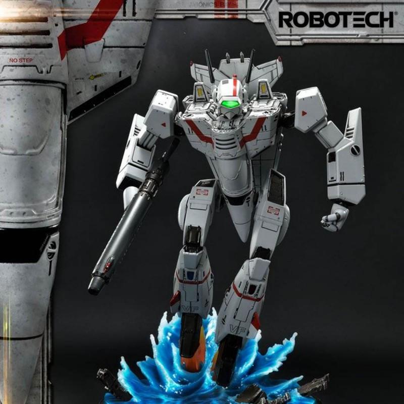 VF-1J Officer's Veritech Battloid Mode - Robotech - Premium Masterline Statue