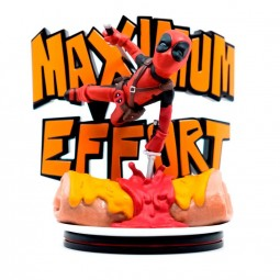 Deadpool Maximum Effort - Marvel - Q-Fig MAX Diorama